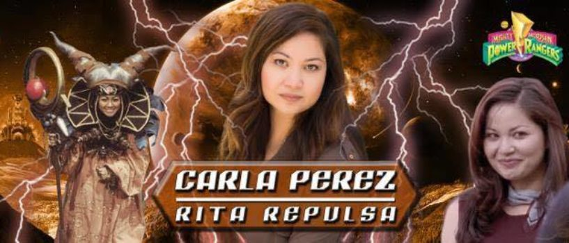 Rapid Fire With Rita Repulsa an INTERVIEW with Mighty Morphin Power Rangers' Carla Perez