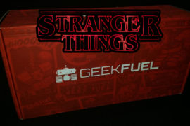 Geek Fuel October 2017 feat. Stranger Things – GXG Unboxening