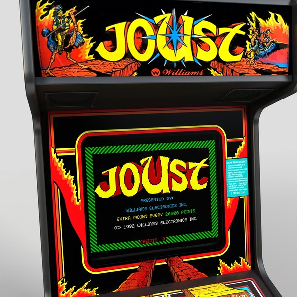 Joust Classic Arcade Game – GXG Re-Plays