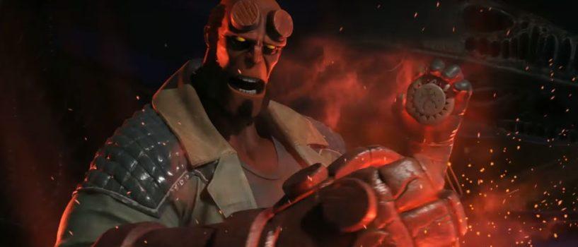 Injustice 2 Hellboy Gameplay Reveal