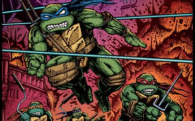 Comic Noobs Show #109: THE NINJA TURTLES EPISODE