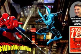 #WhoWouldWin: #BattleOfTheBugs – Spidey vs. Blue Beetle