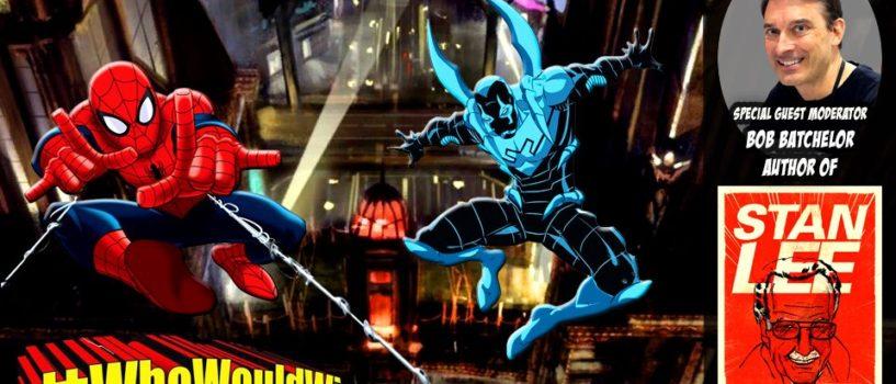 #WhoWouldWin: #BattleOfTheBugs – Spidey vs. Blue Beetle