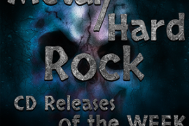 METAL AND HARD ROCK CD / ALBUM RELEASES FOR OCTOBER 13th