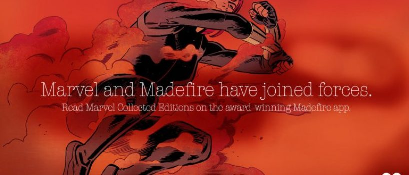 Marvel Comics and Madefire Join forces in new Digital Partnership