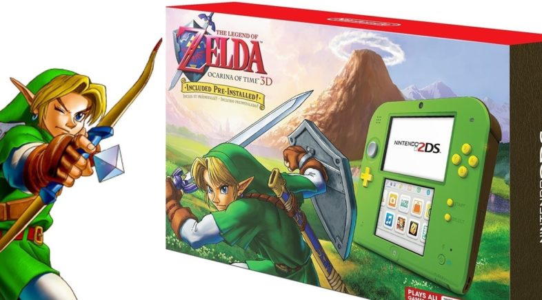 Nintendo Shows Off New Legend of Zelda 2DS and More
