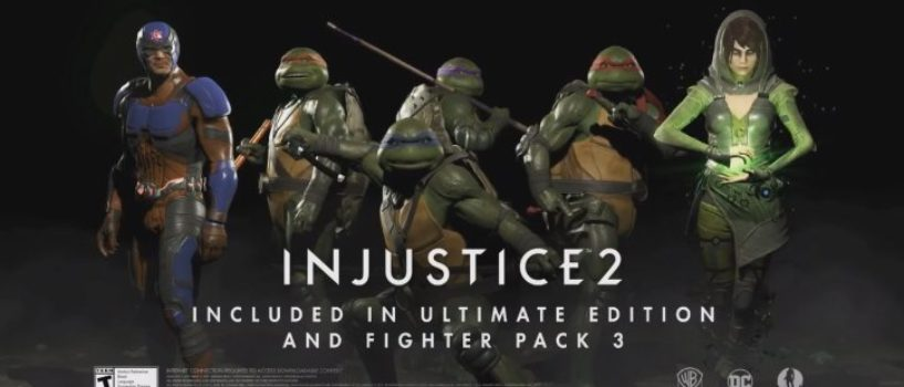 Injustice 2 Character Pack 3 revealed!
