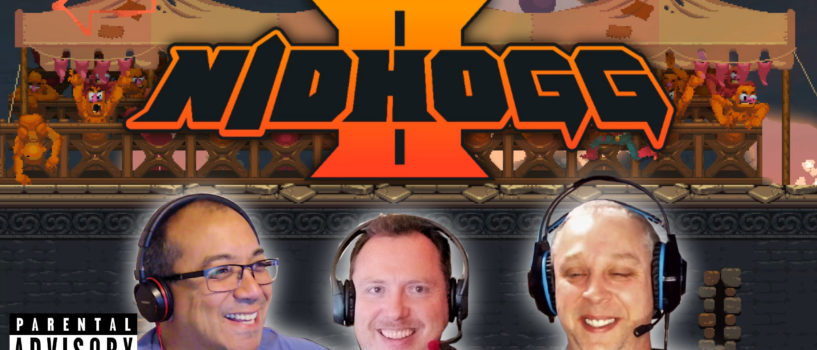 You Don't Have to Fight, But You Do Have to Duck – GXG Plays Nidhogg 2