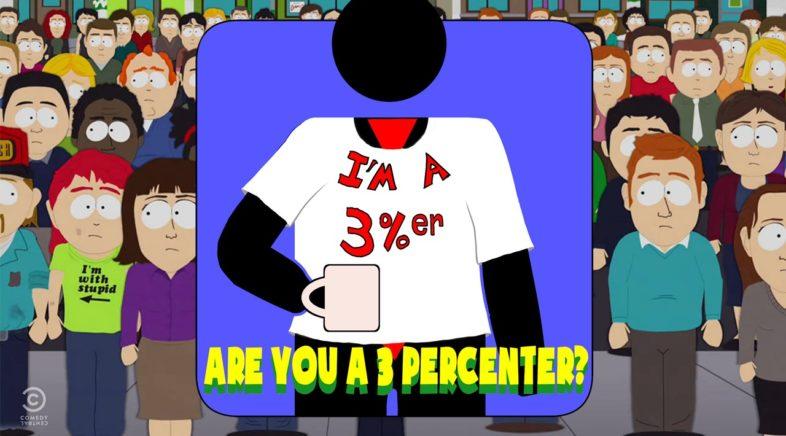 Hard At Work #36: I'm A 3 Percenter