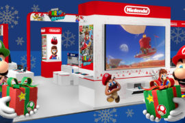 The Nintendo Holiday Experience is Coming to a Town Near You