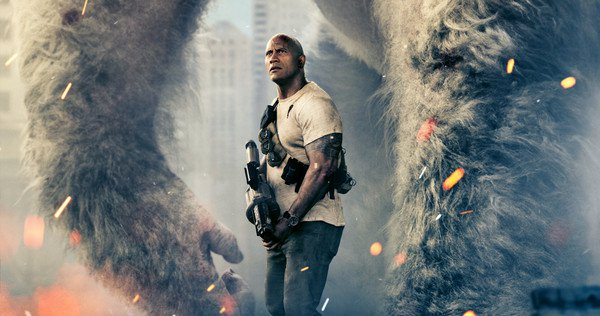 New Trailer for Rampage starring Dwayne Johnson