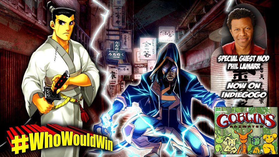 #WhoWouldWin: Static Shock vs. Samurai Jack, Featuring Phil LaMarr