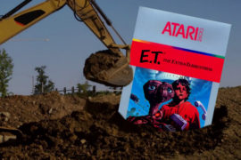 Atari Treasure: E.T. Cartridge from the 1983 Burial in the Alamogordo Landfill