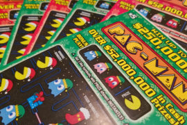 Pac-Man Scratch-Offs from the Florida Lottery! – GXG Plug-N-Play