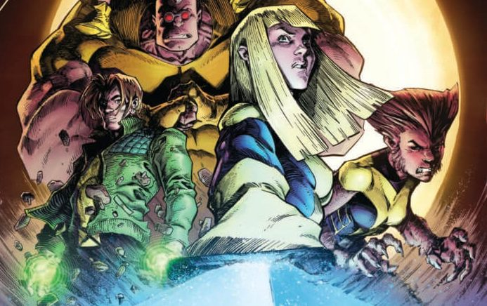 Members of the New Mutants and X-Factor join together in this terrifying tale!