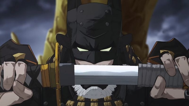 Your First Look At Batman Ninja Anime