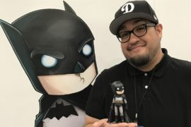 DC Collectibles Highlights DC Artist Alley Designer Vinyl Line As Chris Uminga Draws The Joker