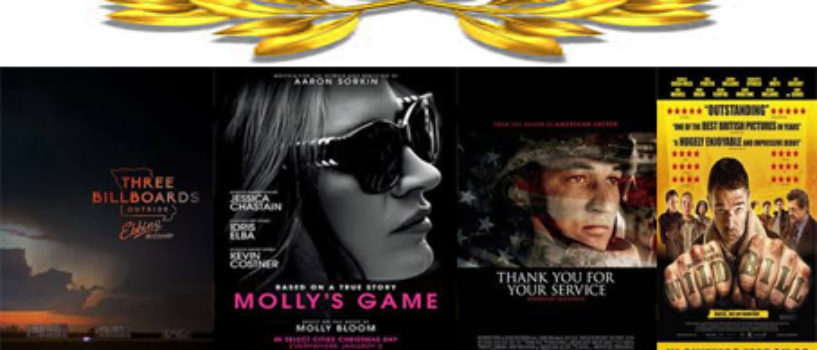 365Flicks Podcast #100 MILESTONE BITCHES… News, Reviews, *3 Billboards* *Mollys Game*