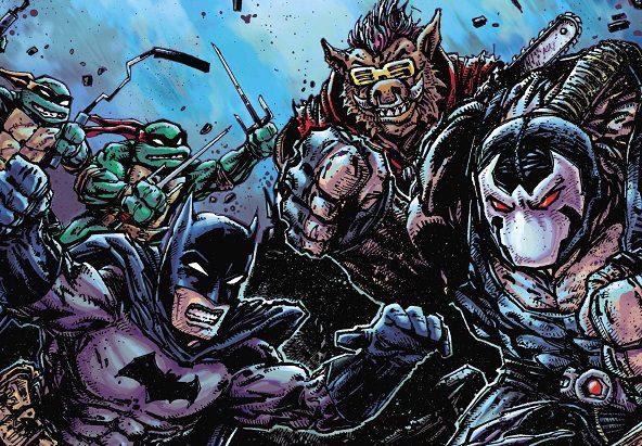 Batman/TMNT II #3 Review