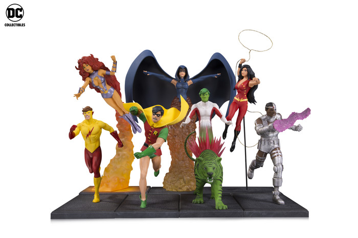 DC Collectibles Launches New Statue Lines Featuring Teen Titans, Batgirl And More