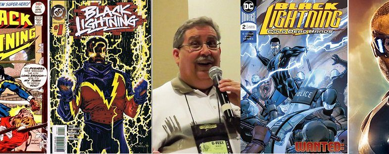 Geek To Me Radio #72: Black Lightning Creator Tony Isabella