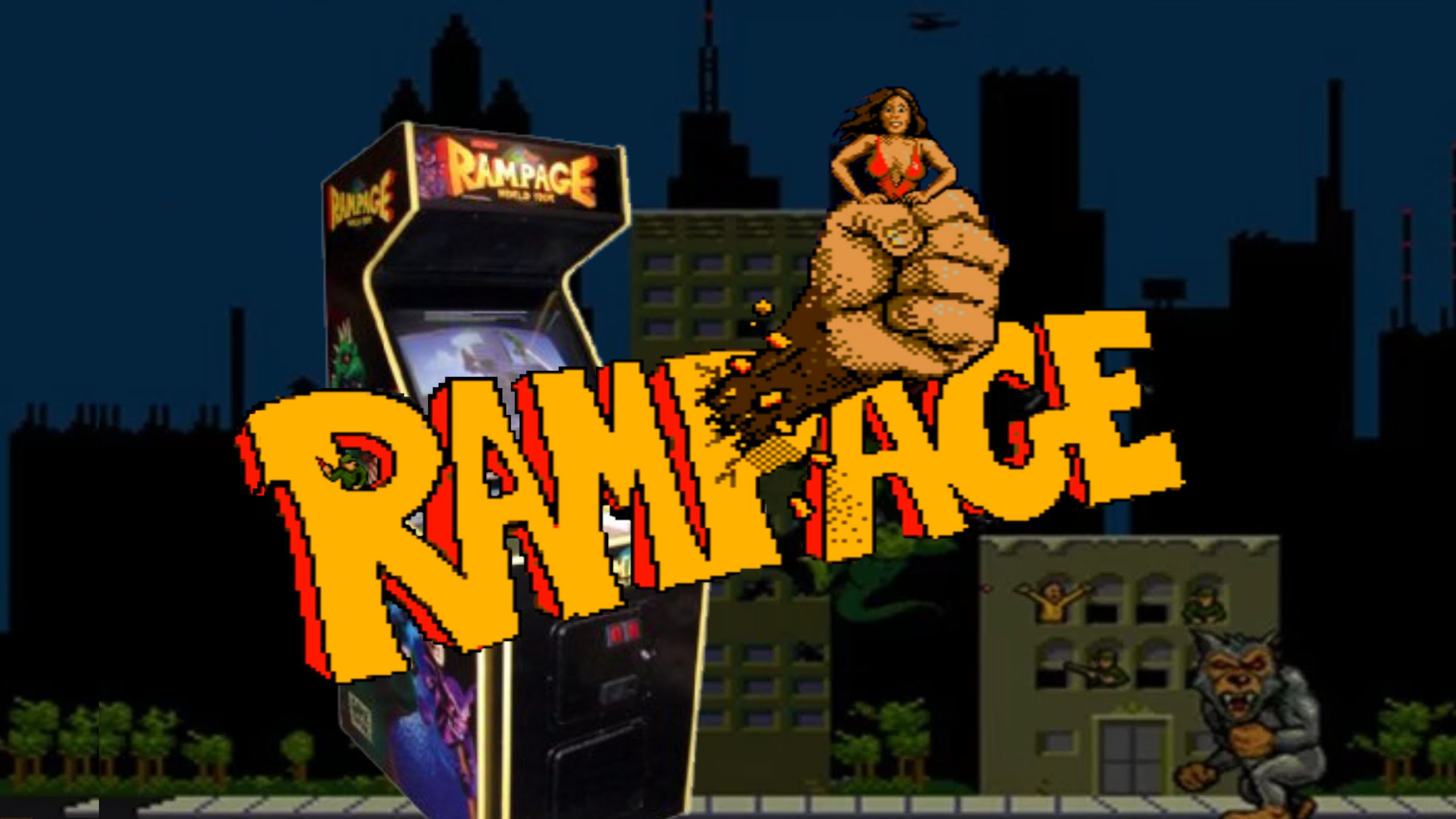 Rampage: The Fun Holds Up, But Infinite Credits Change It – GXG Replays