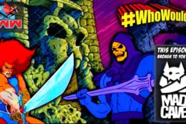 #WhoWouldWin? Lion-O vs. Skeletor