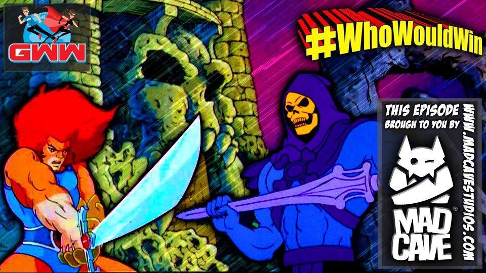#WhoWouldWin? Lion-O vs. Skeletor