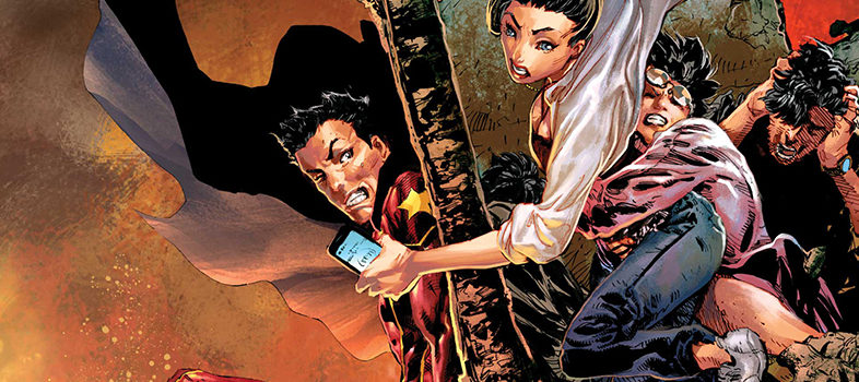 New Super-Man #19 (Exclusive Preview)