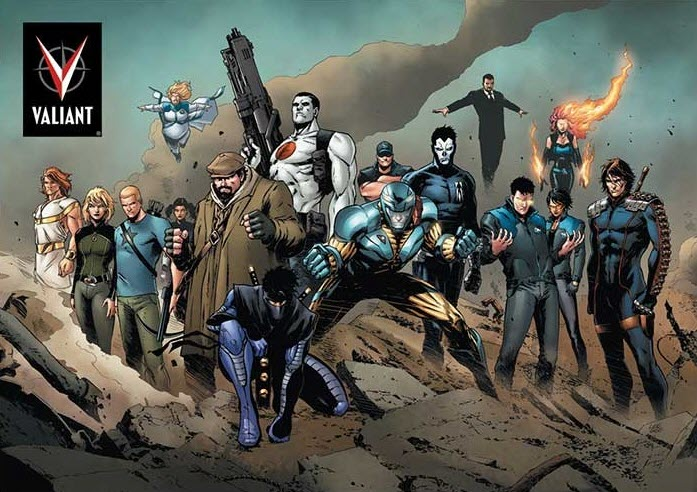 DMG Entertainment Acquires Valiant for New Movie/TV Ventures