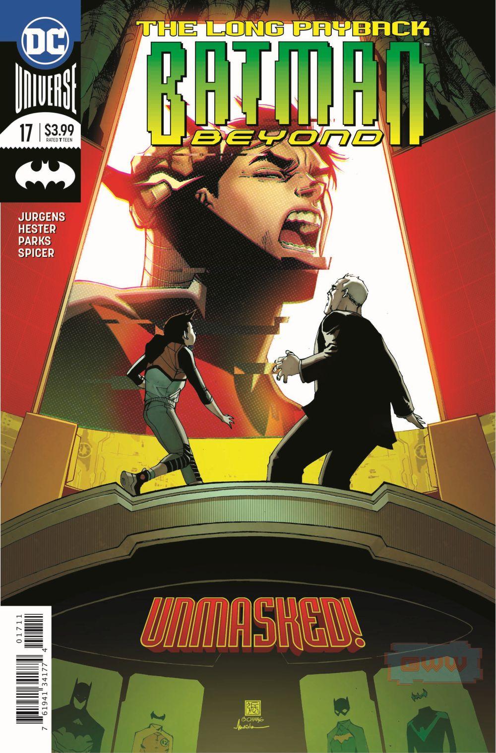 BATMAN BEYOND #17 (EXCLUSIVE PREVIEW)