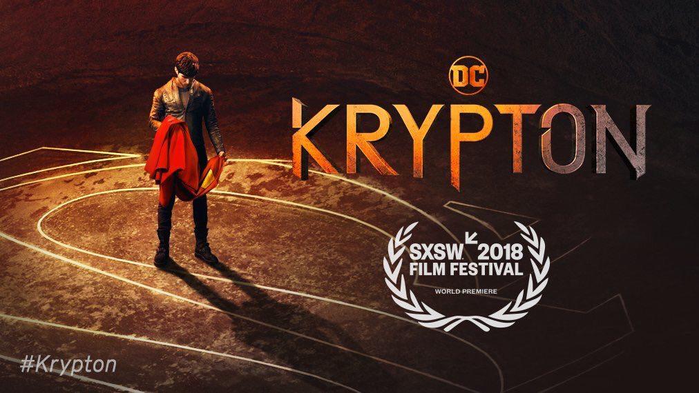 Krypton is set to premiere at the SXSW Film Festival