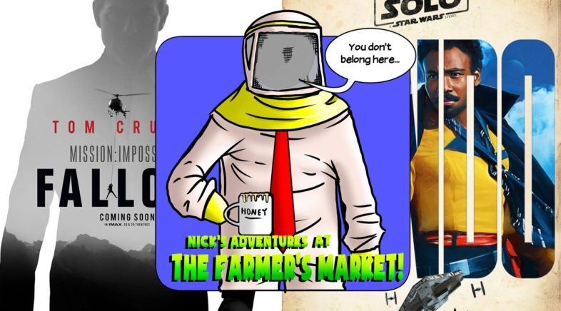 Hard At Work Episode #47: Nick's Adventures At The Farmers Market!