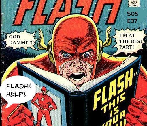 "Miserable Retail Slave. Season 5, Episode 37. ""Overwhelmed Flash"""