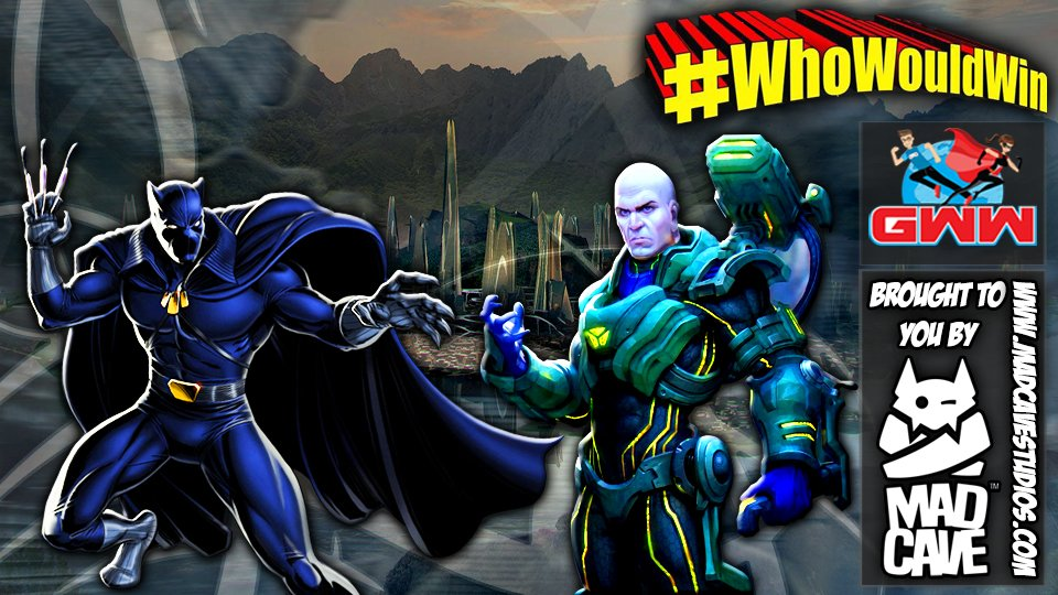 #WhoWouldWin: Luthor vs. Panther