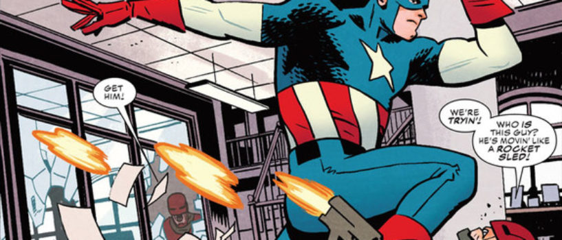 Ta-Nehisi Coates to Write Captain America Series for Marvel Comics