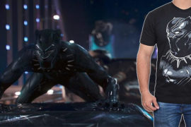 Win a Black Panther shirt courtesy of FilmJackets