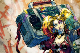 SDCC 2017 Exclusive DC Rebirth Harley Quinn Boombox Statue (Review)