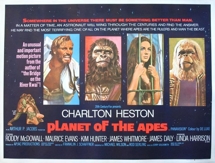 Planet of the Apes (1968) 50th Anniversary Edition Out Now on Digital, Blu-Ray & DVD