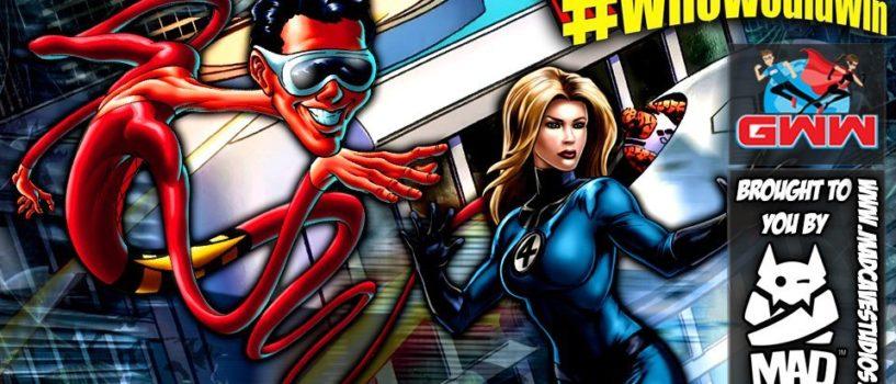 #WhoWouldWin: Plastic Man vs. Sue Storm