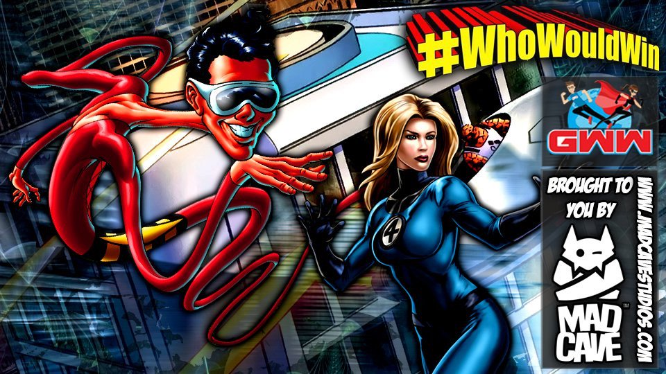 #WhoWouldWin: Plastic Man vs. Sue Storm