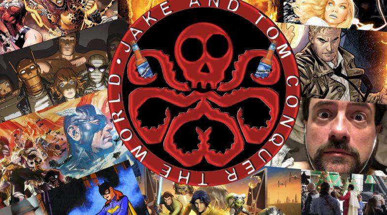 "JAKE AND TOM CONQUER THE WORLD EPISODE 89: DRUNKEN DORK NEWS – MARCH, 2018 (AKA ""DIGGING FOR TREASURE)"