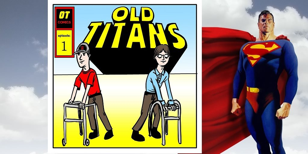 Old Titans #60:  This Looks Like a Job for Superman!