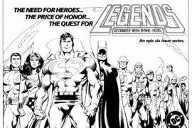 Tour of the DC Universe Podcast #1: Legends
