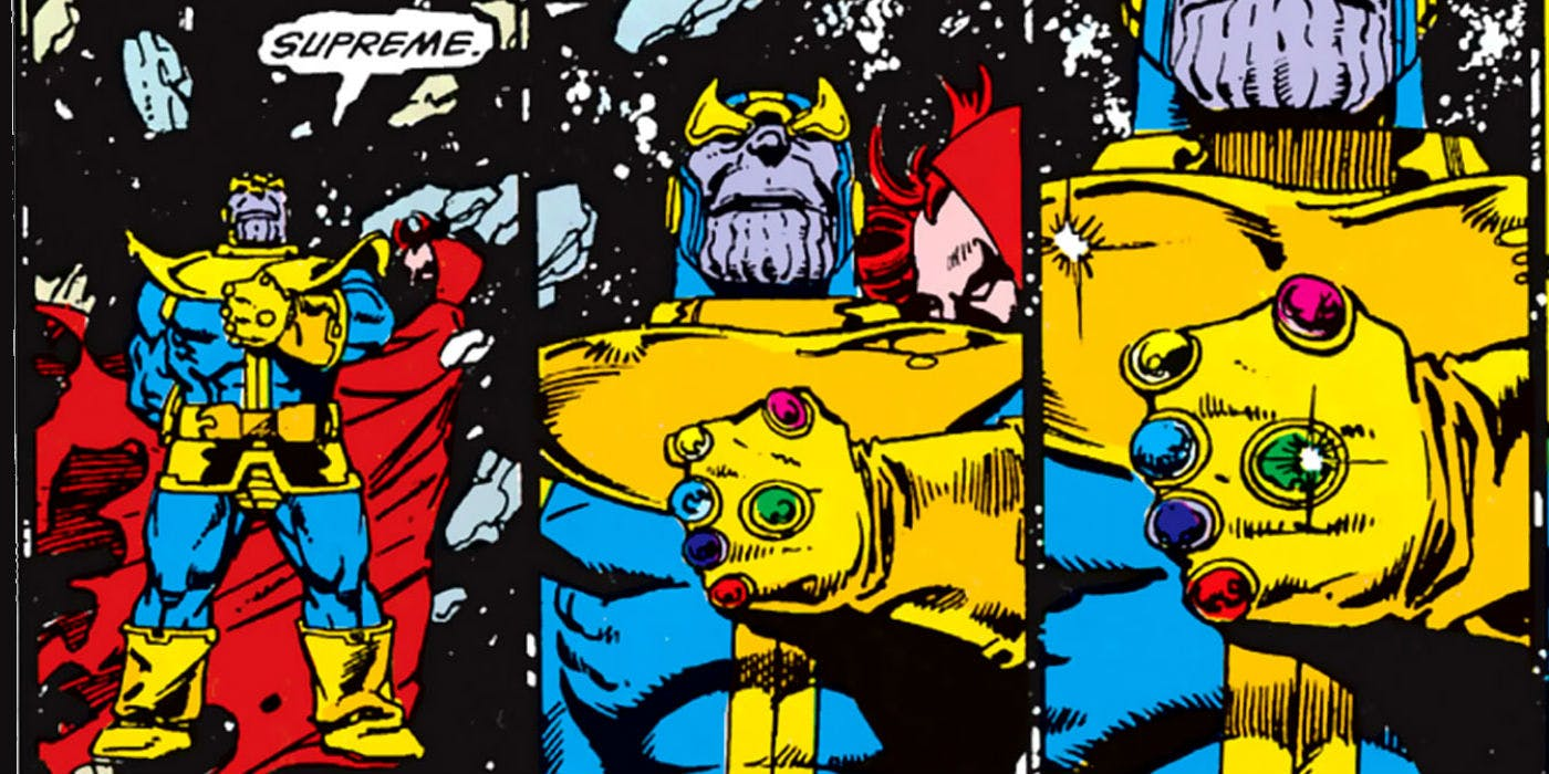 I just read The Infinity Gauntlet for the First Time