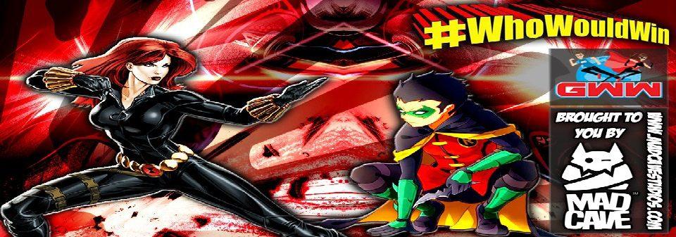 #WhoWouldWin: Black Widow vs. Robin/Damian Wayne