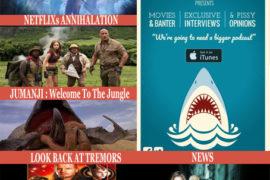 #104 News, Top5 Great Trailers Bad Movies, Tremors – Annihilation – Jumanji