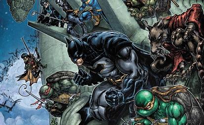 Batman/Teenage Mutant Ninja Turtles II #6 EXCLUSIVE PREVIEW