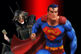 Check Out These Awesome DC Comic Universe PVC dioramas from Diamond Select