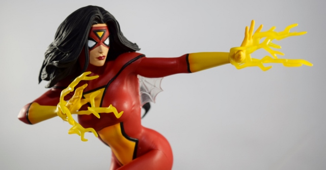 Marvel Gallery Spider-Woman PVC Diorama Review
